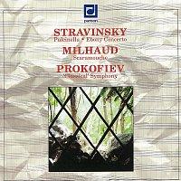 Stravinskij, Milhaud, Prokofjev: Pulcinella, Ebony - Scaramouche - Symfonie č. 1