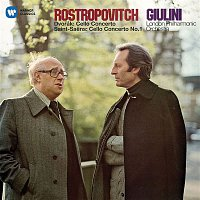 Přední strana obalu CD Dvorák: Cello Concerto - Saint-Saens: Cello Concerto No. 1