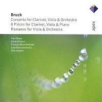 Gérard Caussé, Francois René Duchable, Paul Meyer – Bruch : Works for Clarinet & Viola  -  Apex
