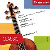 Janáček Quartet – Janáček Quartet plays Mozart, Schulhoff, Martinů