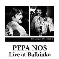 Přední strana obalu CD Live at Balbínka
