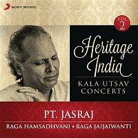 Pt Jasraj – Heritage India (Kala Utsav Concerts, Vol. 2) [Live]