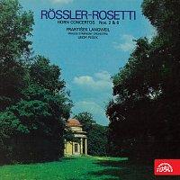 František Langweil, Symfonický orchestr hl.m. Prahy (FOK), Libor Pešek – Rössler-Rosetti: Koncerty pro lesní roh a orchestr