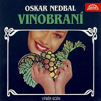 Přední strana obalu CD Nedbal: Vinobraní, Cudná Barbora