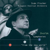 "Přední strana obalu CD Dvorák: Symphonies Nos.8 & 9 ""From the New World"""