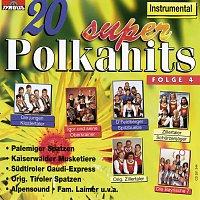 Různí interpreti – 20 Super Polkahits - Folge 4 -  Instrumental