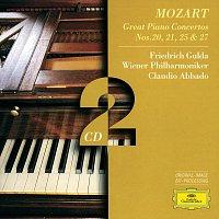 Friedrich Gulda, Wiener Philharmoniker, Claudio Abbado – Mozart, W.A.: Piano Concertos Nos.20, 21, 25 & 27