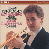 Hakan Hardenberger, Michael Laird, William Houghton, John Constable, Graham Sheen – Telemann: Trumpet Concertos