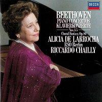 Alicia de Larrocha, Radio-Symphonie-Orchester Berlin, Riccardo Chailly – Beethoven: Piano Concertos Nos. 1-5; Choral Fantasia