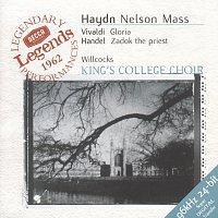 Přední strana obalu CD Haydn: Nelson Mass / Vivaldi: Gloria in D / Handel: Zadok the Priest