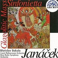 Přední strana obalu CD Janáček: Glagolská mše, Sinfonietta