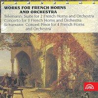 Přední strana obalu CD Telemann, Schumann: Skladby pro lesní rohy a orchestr