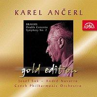 Přední strana obalu CD Ančerl Gold Edition 31. Brahms: Dvojkoncert a moll, op. 102, Symfonie č. 2