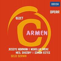 Přední strana obalu CD Bizet: Carmen