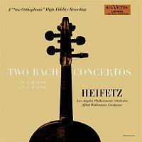 Jascha Heifetz, Alfred Wallenstein, Johann Sebastian Bach – Bach: Concerto No. 1, BWV 1041 in A Minor, Concerto No. 2, BWV 1042 in E