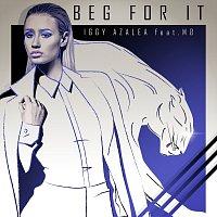 Přední strana obalu CD Beg For It [Remixes]