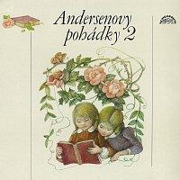 Přední strana obalu CD Andersenovy pohádky 2