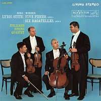 Juilliard String Quartet, Anton Webern, Samuel Rhodes, Joel Krosnick, Isidore Cohen, Raphael Hillyer, Claus Adam, Robert Koff – Berg: Lyric Suite - Webern: 5 Movements for String Quartet, Op. 5 & 6 Bagatelles for String Quartet, Op. 9