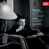 Ilja Hurník – Debussy: Dvě arabesky, Rytiny, Obrazy, Dětský koutek - Ravel: Valčíky vznešené a tesklivé