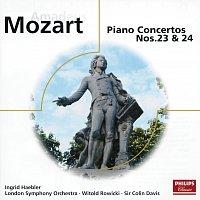 Přední strana obalu CD Mozart: Piano Concertos Nos.23 & 24; Rondos