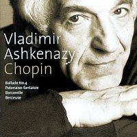 Přední strana obalu CD Chopin: Ballade No.4; Polonaise-Fantaisie; Barcarolle; Berceuse