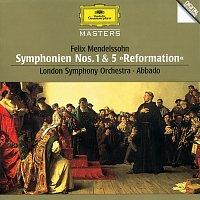 "London Symphony Orchestra, Claudio Abbado – Mendelssohn: Symphonies Nos.1 & 5 ""Reformation"""
