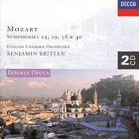 English Chamber Orchestra, Benjamin Britten – Mozart: Symphonies Nos. 25, 29, 38 & 40 etc.