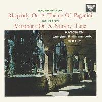 Julius Katchen, London Philharmonic Orchestra, Sir Adrian Boult – Rachmaninov: Piano Concerto No. 2; Rhapsody on a Theme of Paganini / Dohnányi: Variations on a Nursery Song