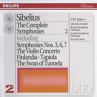 Přední strana obalu CD Sibelius: The Complete Symphonies, etc., Vol.2
