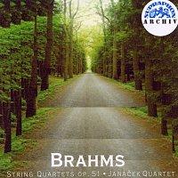 Janáčkovo kvarteto – Brahms: Smyčcové kvartety