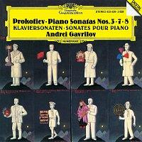 Přední strana obalu CD Prokofiev: Piano Sonatas Nos. 3, 7 & 8