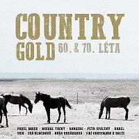 Přední strana obalu CD Country Gold 60. & 70. léta