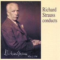 Přední strana obalu CD Richard Strauss conducts
