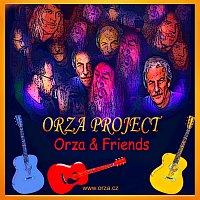 Přední strana obalu CD Orza project - Orza & Friends