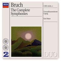 Salvatore Accardo, Gewandhausorchester Leipzig, Kurt Masur – Bruch: The 3 Symphonies/Works for Violin & Orchestra