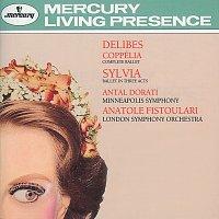 Přední strana obalu CD Delibes: Coppélia & Sylvia
