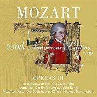 Mozart : Operas Vol.3 [La clemenza di Tito, Die Zauberflote, Idomeneo, Die Entfuhrung aus dem Serail]