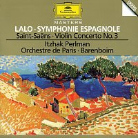 Itzhak Perlman, Orchestre de Paris, Daniel Barenboim – Lalo: Symphony espagnole Op.21 / Saint-Saens: Concerto For Violin And Orchestra No. 3 In B Minor, Op. 61 / Berlioz: Reverie et Caprice Op. 8 For Violin And Orchestra