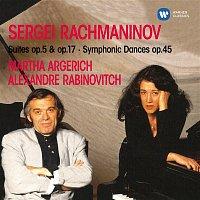 Martha Argerich – Rachmaninov : Suites 1, 2 & Symphonic Dances  -  Elatus
