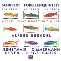 Alfred Brendel, Thomas Zehetmair, Tabea Zimmerman, Richard Duven – Schubert: Forellenquintett / Mozart: Piano Quartet in G minor