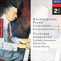 Vladimír Ashkenazy, London Symphony Orchestra, André Previn – Rachmaninov: Piano Concertos Nos. 1-4 [2 CDs] – CD