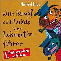 Přední strana obalu CD 01: Jim Knopf und Lukas der Lokomotivfuhrer (Horspiel)