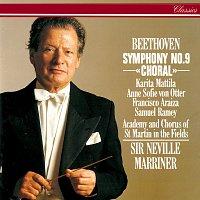 Sir Neville Marriner, Karita Mattila, Anne Sofie von Otter, Francisco Araiza – Beethoven: Symphony No. 9