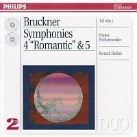 Přední strana obalu CD Bruckner: Symphonies Nos.4 & 5 [2 CDs]