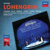 Jess Thomas, Anja Silja, Astrid Varnay, Ramon Vinay, Franz Crass, Tom Krause – Wagner: Lohengrin [Live In Bayreuth / 1962]