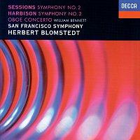 Herbert Blomstedt, San Francisco Symphony – Harbison: Symphony No. 2; Oboe Concerto / Sessions: Symphony No. 2