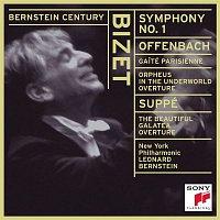 Leonard Bernstein – Bizet: Symphony No. 1 in C Major; Offenbach:  Gaité Parisienne; Orphée aux enfers Overture; Von Suppé: Die schone Galatea Overture