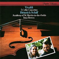 Heinrich Schiff, Academy of St. Martin in the Fields, Iona Brown – Vivaldi: 5 Cello Concertos