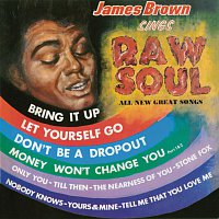 Přední strana obalu CD James Brown Sings Raw Soul