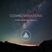 Přední strana obalu CD Cosmic Vibrations [Sampler 3]